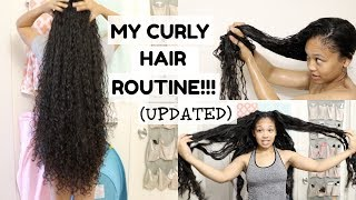My Updated Curly Hair Routine!! | Natural Hair | LOVVESAMMAY