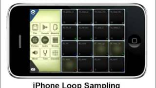 iPhone MPC-style Beat Loop Sampling in the Streets with Still Born using Intua Beatmaker