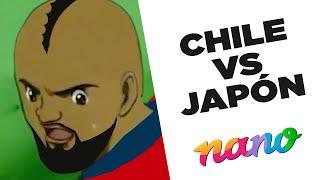 Super Campeones Chile Vs Japón