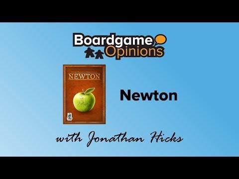 Boardgame Opinions: Newton