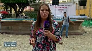 AMLO de gira por Chiapas