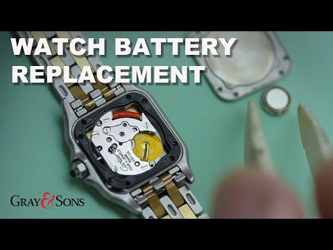 How to change a watch battery: Cartier, Piaget, Patek Philippe, Chopard, Piaget and more.