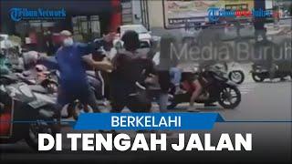 Viral Video Pengamen Jalanan dan Pengemudi Motor Berkelahi, Diduga Minta Uang secara Paksa