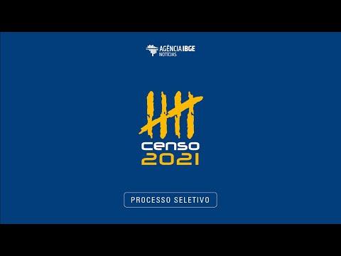 IBGE: Processo Seletivo Censo 2021