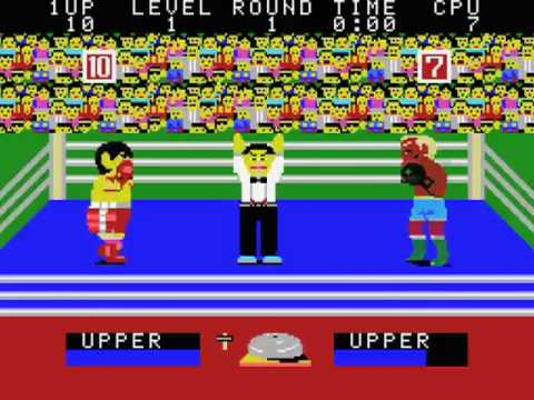 Champion Boxing Japan MSX Gameplay video Snapshot