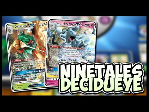 Decidueye GX / Alolan Ninetales GX – Pokemon TCG Online Gameplay
