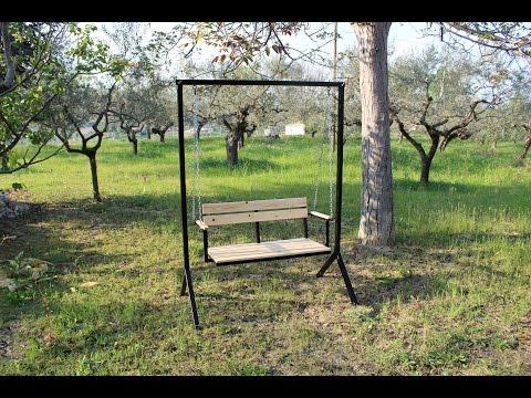 dondolo da giardino fai da te (homemade Porch Swing)