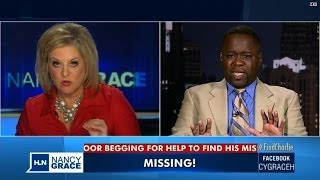 Nancy Grace tells dad missing son found alive