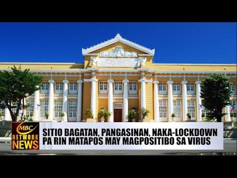 [DZRH]  SITIO BAGATAN, PANGASINAN, NAKA-LOCKDOWN PA RIN MATAPOS MAY MAGPOSITIBO SA VIRUS