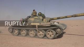 Syria: Government troops make advances in Homs countryside
