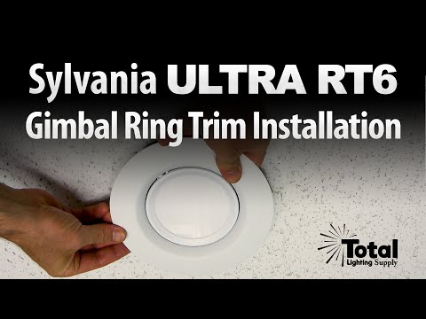 Sylvania ULTRA RT6 Gimbal Ring Trim Installation
