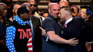 Mayweather vs. McGregor- New York Press Conference Русская озвучка