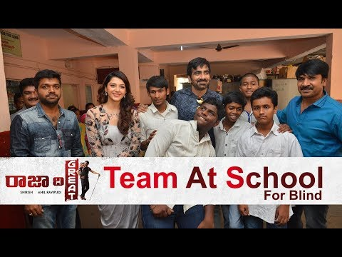 Raja The Great Team at Devnar School For The Blind