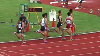 2017.7.17青森県中体連夏季大会2.3年男子1500m決勝