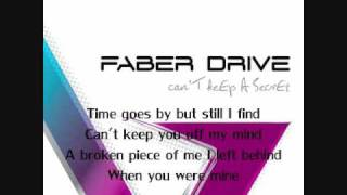 Faber Drive - Forever - Lyrics
