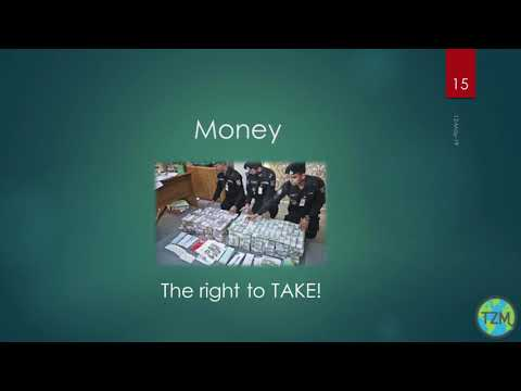 What is wrong with Money, Zday 2019, Lawrence Bishop [ The Zeitgeist Movement ]