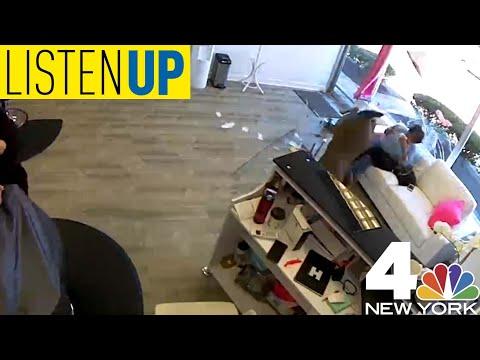 Listen Up: A Deer Crashed Through a Hair Salon in New York
