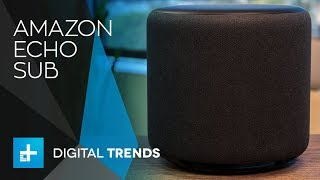 Amazon Echo Sub - Hands On Review