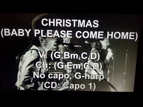 Search Results For Chord Gitar Christmas Baby Please Come Home Mix