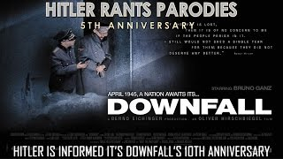 Hitler is informed it's Downfall's 10th anniversary