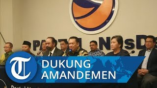 Ketua MPR Ungkap Partai NasDem Dukung Amandemen Menyeluruh UUD 1945