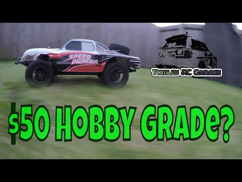 Awesome 1/18 Scale Short Course Truck for less than $50