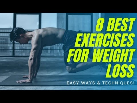 8 Best Exercises for weight loss || Health || Fitness.
