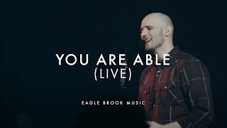 You Are Able (Live)