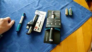 Lezyne Pressure Drive CFH versus Crankbrothers klic hp gauge+co2 pump