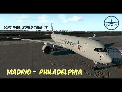 X-Plane 11   Another Long Haul   KBOS-EGLL   FF B777LR