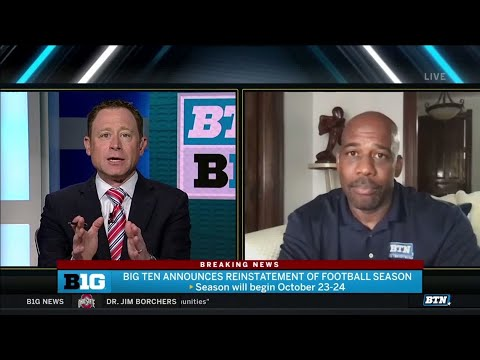Big Ten Football is Back   Howard Griffith on What's Changed and More