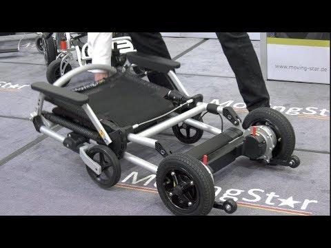 Leichtester elektro Rollstuhl E-Scooter der Welt