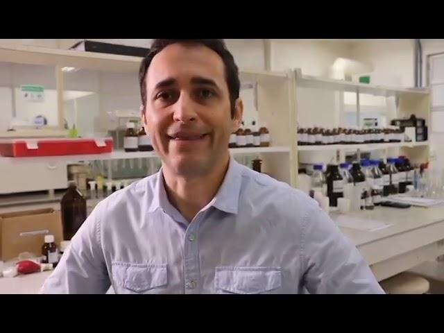 Alexandre Madeira, gerente geral do Elofar, comenta a experiência profissional de um farmacêutico industrial.