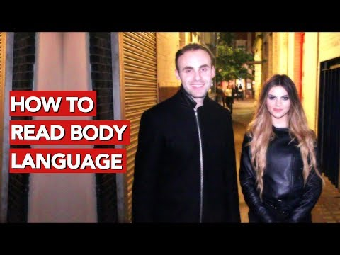 How to read a girl's body language?