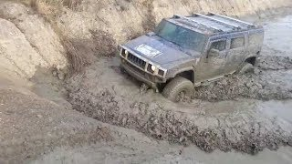 Hummer H2 Vs Extreme Mud And Water