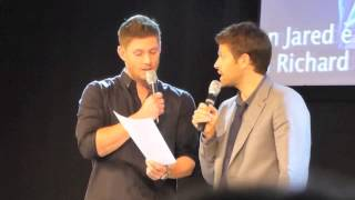 Миша Коллинз, JIB 5: Jensen and Misha reenacting a script from the Movie Hitch