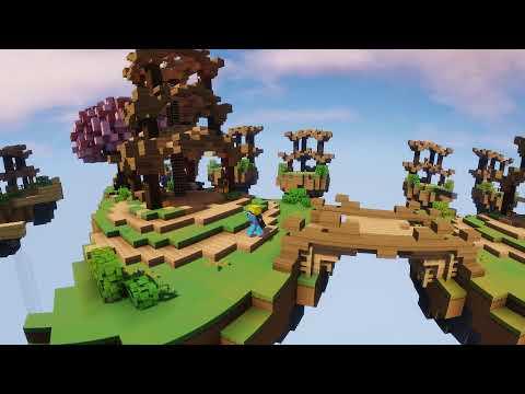 360 degree skywars(shaders)