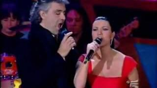 Andrea Bocelli  Laura Pausini   Dare To Live (Vivere).mpg