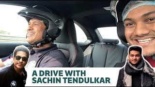 Pranav Driving With Sachin Tendulkar | BMW India