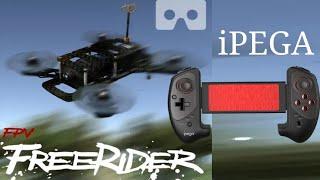 IPEGA - FPV FreeRider - Configurando controle para simulador de DRONE