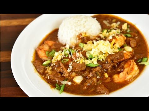 Best Steak and Shrimp Chili Recipe   Surf and Turf Chili  Crock Pot Recipe  Cooking With Carolyn