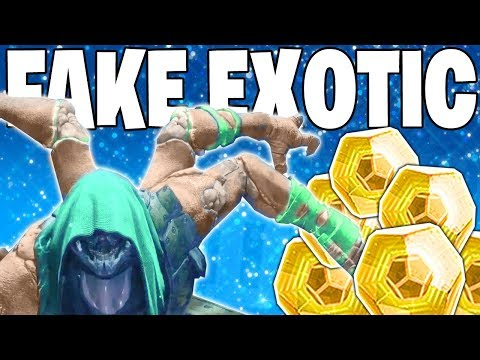 Destiny 2: INSANE LOOT DROPS - Trickster Fake Exotic = REAL EXOTIC - Epic & Lucky Highlights #51