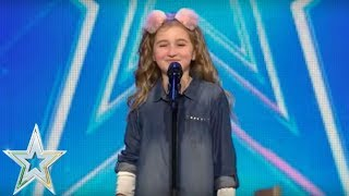 Cora Harkin channels her inner Barbara Streisand    Auditions Series 1   Ireland's Got Talent