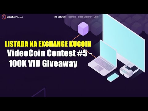 VideoCoin Contest #5 - 100K VID Giveaway