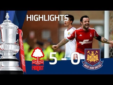 NOTTINGHAM FOREST vs WEST HAM UNITED 5-0: Official Goals & Highlights FA Cup Third Round | MTW