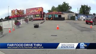 Wisconsin State Fair food drive-thru opens