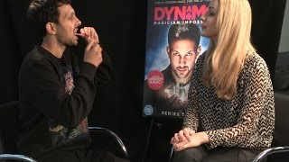 Magician Dynamo baffles reporter with card trick