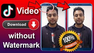 How to Download TikTok Video Without Watermark   Remove TikTok Watermark   Image Bangla