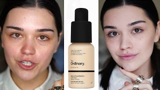 The Ordinary  Serum Foundation | First Impressions