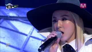 2NE1_그리워해요 (MISSING YOU by 2NE1 of Mcountdown 2013.12.19)